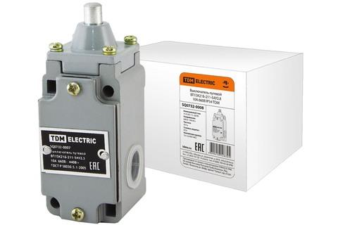 Выключатель путевой ВП15K21Б-211-54У2.8 10А 660В IP54 TDM