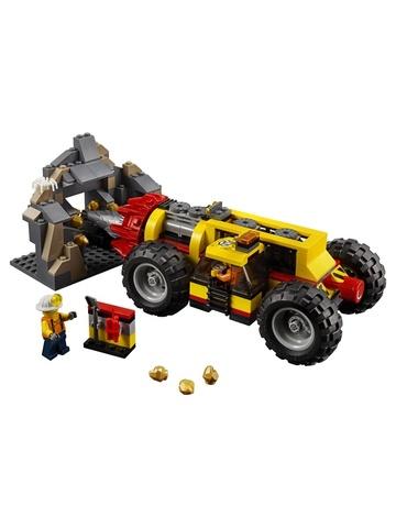 LEGO City: Тяжелый бур для горных работ 60186 — Mining Heavy Driller — Лего Сити Город