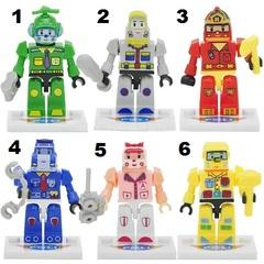Minifigure Robocar Poli Blocks Building