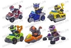 Набор Супер Миссия 6 героев с машинками