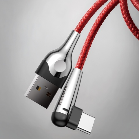 Кабель Baseus sharp-bird mobile game cable USB For Type-C 2A 2M Red
