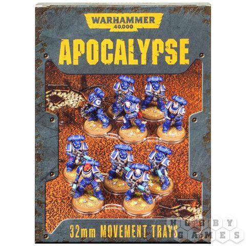 Apocalypse Movement Trays 32mm