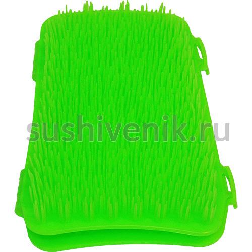 Рукавица массажная Бодрость (зеленая)