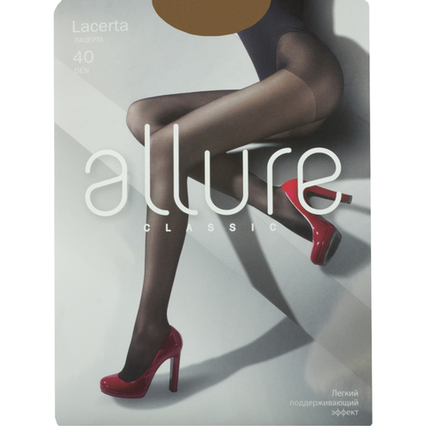 Колготки Allure LACERTA 40D (glase)