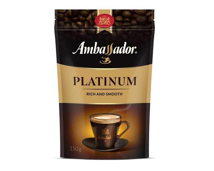 Кофе растворимый Ambassador Platinum, 150 г