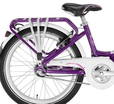 Двухколесный велосипед Puky Skyride 20-3 Alu light 4450 lilac лиловый, 6+