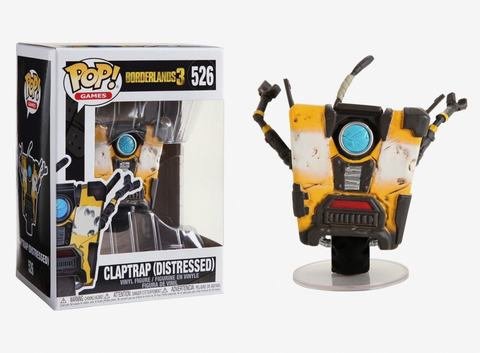 Claptrap Borderlands Funko Pop! || Железяка