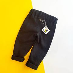 Штаны льняные черные