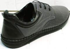 Летние мужские туфли спортивного стиля Ridge Z-430 75-80Gray.