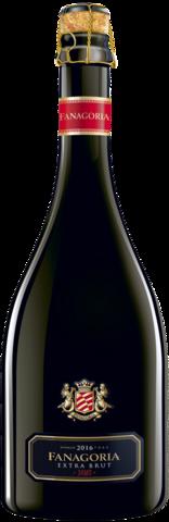 Игристое вино Сенной выдержанное Фанагория экстра брют белое  ЗНМП