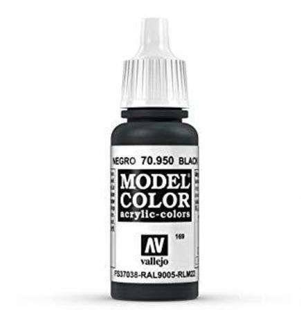 Model Color Negro Black 17 ml.