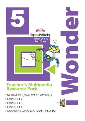 i Wonder 5 Teacher's Multimedia Resource Pack - Диски с аудированием, видео и дополнительными материалами