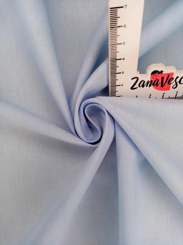 Ранфорс гладкокрашеный Нежно-голубой