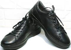 Городские кроссовки мужские демисезонные Ikoc 1725-1 Black.