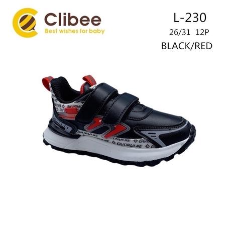 Clibee L230 Black/Red 26-31