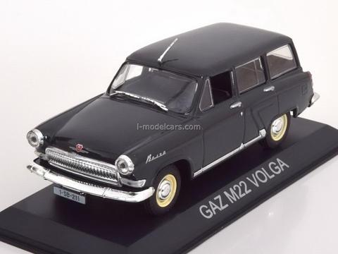 GAZ-M22 Volga dark grey 1:43 DeAgostini Masini de legenda #23