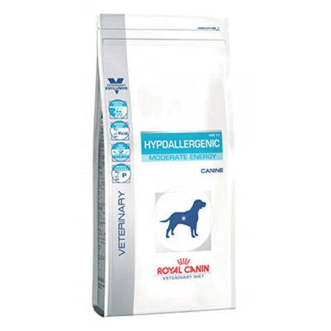 14 кг. ROYAL CANIN Сухой корм для взрослых собак с пищевой аллергией Hypoallergenic Moderate Calorie HME 23