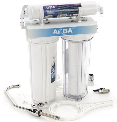 Система водоочистная AquaKit PF-2-1 (проточник, две ступени)