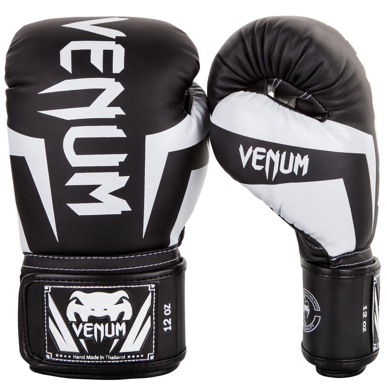 Перчатки Перчатки для бокса Venum Elite Boxing Gloves Black/White 1.jpg