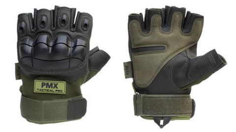 Перчатки PMX-26 Green укороченные