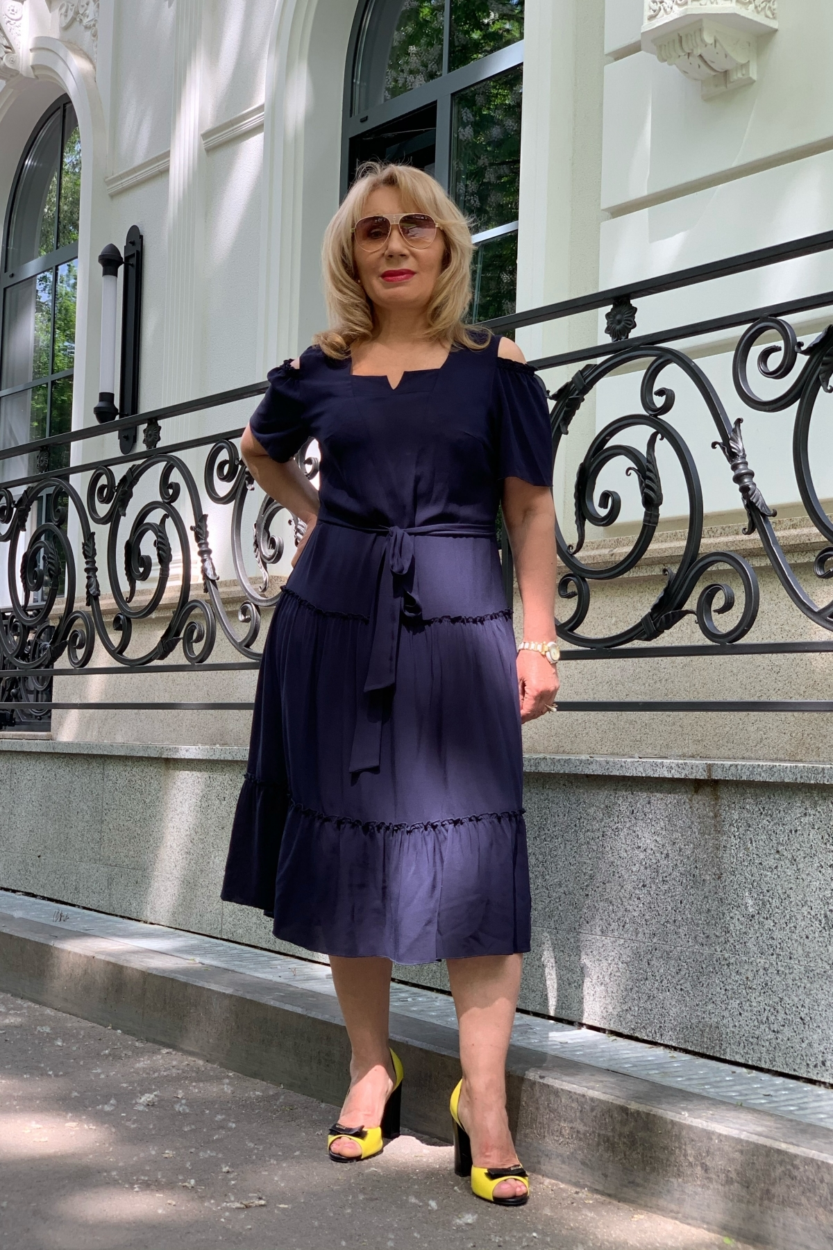 Сукня Люсьєна (світло-синій)