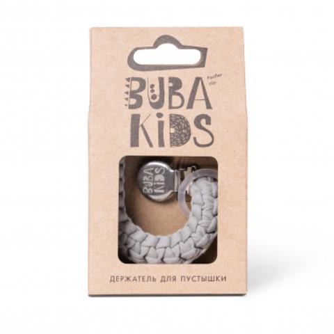 Прищепка-держатель для соски текстильный BUBA Kids Муссон
