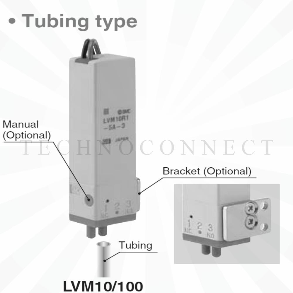 LVM10R1-6C-1   2/2 Клапан химич. стойкий, 12VDC