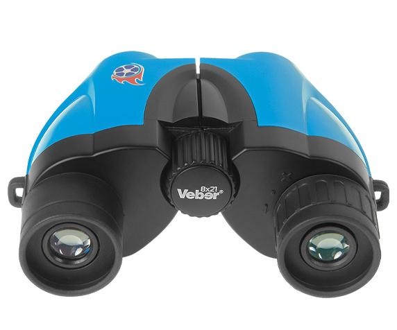 Бинокль Veber 8х21 (Бирюза) - многослойное просветляющее покрытие