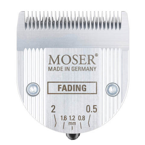 Машинка для стрижки Moser Genio Pro Fading Edition, аккум., 4 насадки, черная