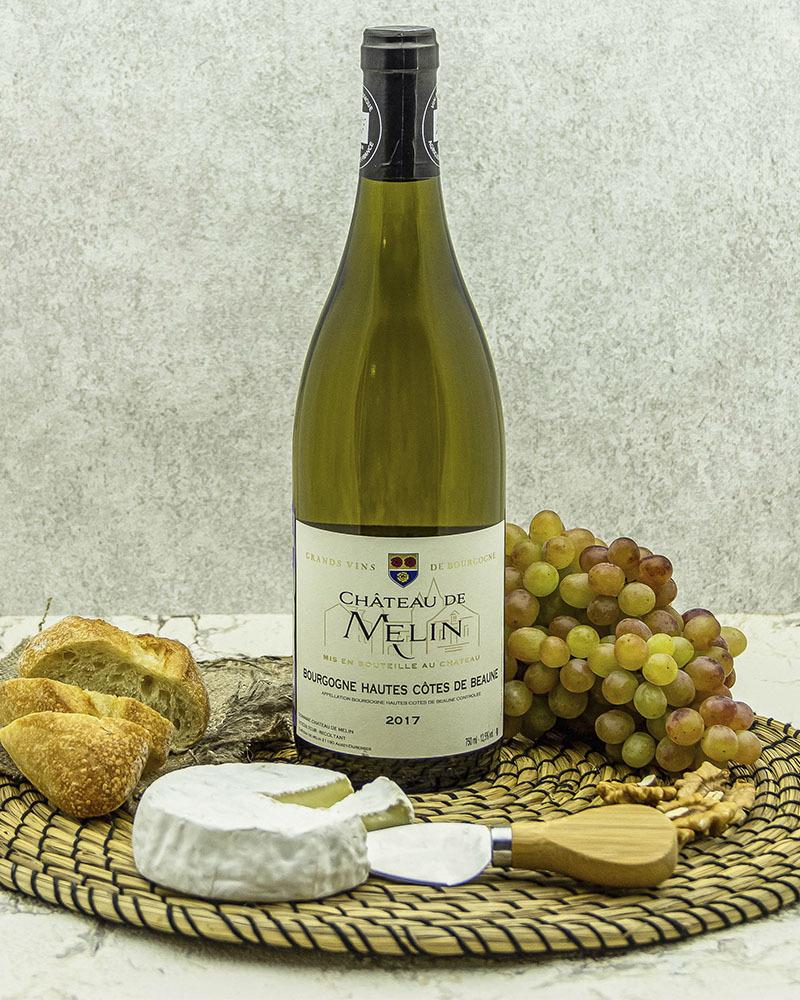 Вино Chateau De Melin Шато де Мелан Бургундия Хойт Кот де Бон Белое Cухое 2017 г.у. 12,5% 0,75 л