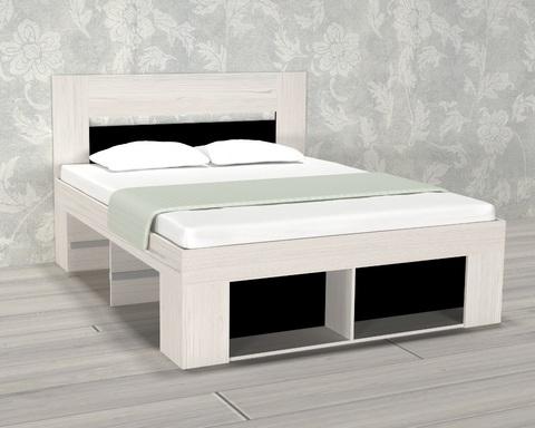 Кровать БЕЛЛРОК-2  2000-1600 /2036*1100*1636/