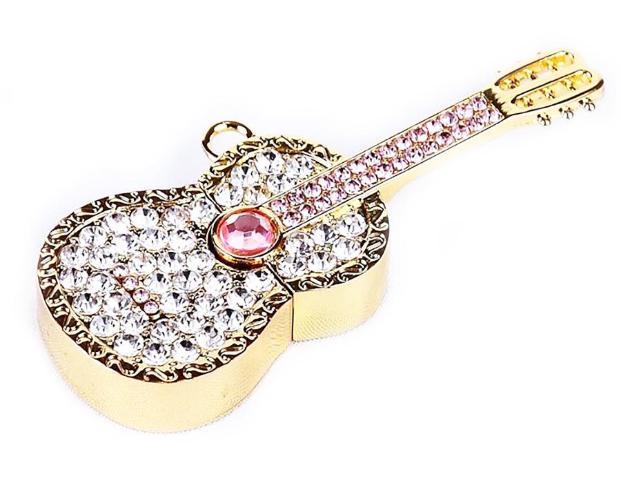 usb-флешка гитара со стразами оптом