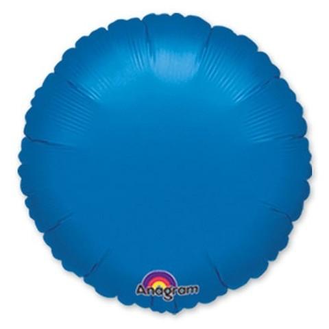 Круг Металлик, Синий (46 см)