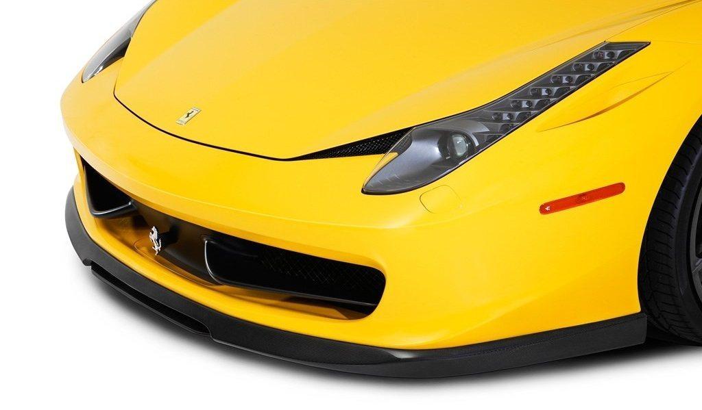 Карбоновый передний центральный сплиттер Vorsteiner Style для Ferrari 458 Italia