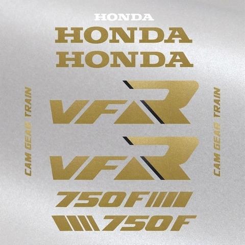 Набор виниловых наклеек на мотоцикл HONDA VFR 750 1987