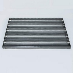 Противень для багетов 600х400 мм  5 волн (нерж., ширина волны 75мм)