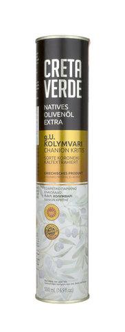 Оливковое масло CRETA VERDE с острова Крит PDO 500 мл металл