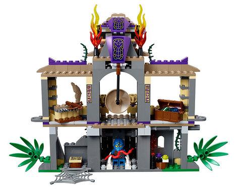 LEGO Ninjago: Храм Клана Анакондрай 70749 — Enter the Serpent — Лего Ниндзяго