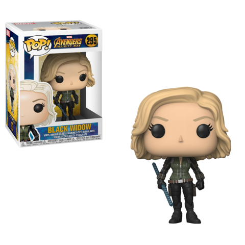 Фигурка Funko POP! Bobble: Marvel: Avengers Infinity War: Black Widow 26468