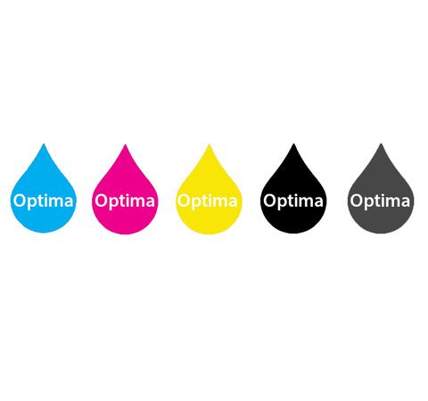 Пигментные чернила Optima для Epson XD 5x250 мл