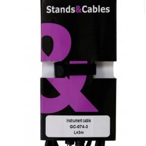 Инструментальный кабель STANDS & CABLES GC-074-3
