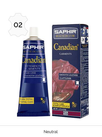 Крем-краситель для гладкой кожи, тюбик, Saphir Canadian 75 мл, (23 цвета)