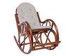 Кресло-качалка из ротанга Classic с подушкой