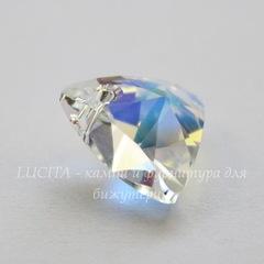 6628 Подвеска Сваровски Треугольник Crystal AB (12 мм)