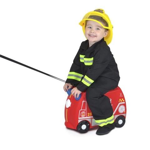 Чемодан на колесиках Фрэнк пожарный, Trunki