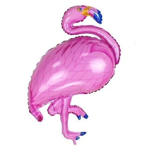 Шар фигура Розовый Фламинго, 97 см