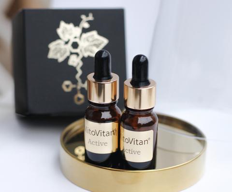 Митовитан Актив Сет - антиоксидант для кожи, набор для приготовления antiage косметики