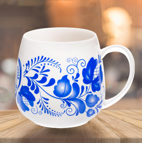 "VELIKOROSS mug ""Frosty patterns"""