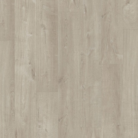 ПВХ плитка QS Pulse Click, 32 кл(PUCL40105,мм, 2,22 м2/7 шт/уп., Дубхлопк.светло-серый)