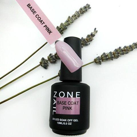 База камуфлирующая ONENAIL Base Coat Pink 15мл
